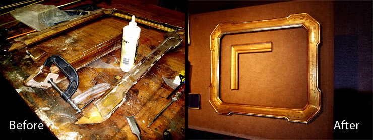 Picture Frame Restoration