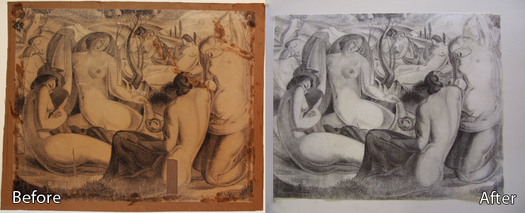 Paper Artwork Restoration
