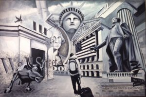 Painting by Eduardo Lacayo